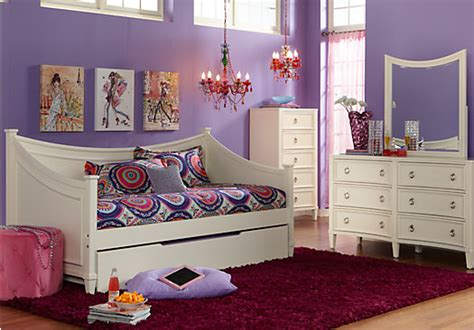 Rooms To Go Kids : Jaclyn Place Ivory Pc Daybed Bedroom-twin Bedroom Sets