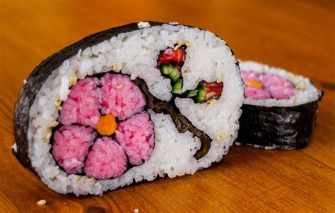 cuisine sushi how to flower sushi amazing food recipe