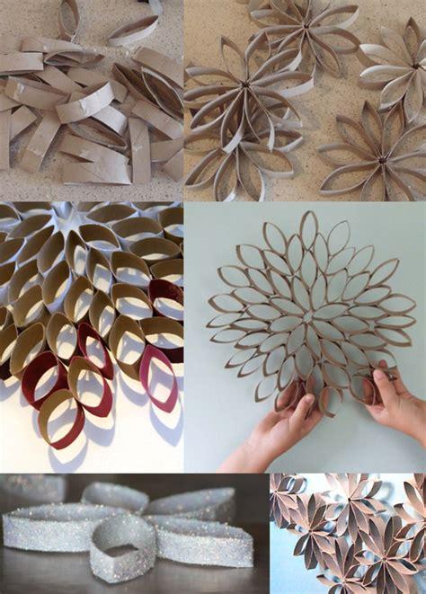 fleurs en papier toilette fleur en rouleaux de papier toilette cr 233 ations pour la maison rouleaux de papier
