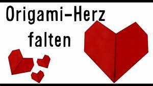 Herz Falten Origami : origami herz falten zum valentinstag ~ Eleganceandgraceweddings.com Haus und Dekorationen