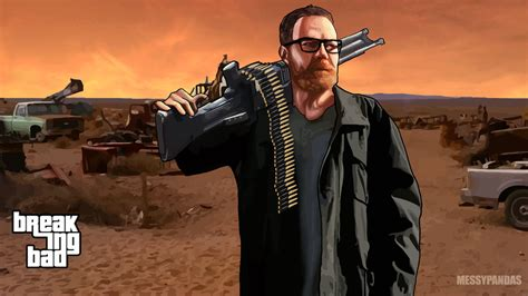 'breaking Bad' And 'grand Theft Auto' Crossover In These