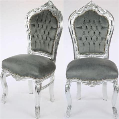 barok stoel goedkoop barok armstoel zilvergrijs with barok stoel kind
