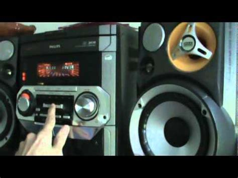 philips fw  stereo youtube