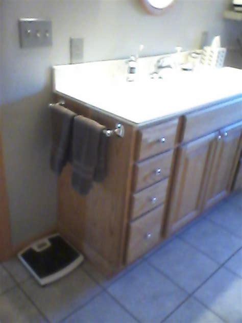 bathroom towel bar placement doityourselfcom community