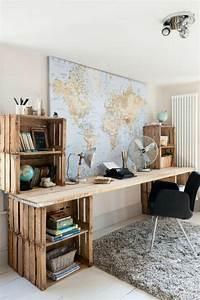Holzmöbel Selber Bauen : diy projekt schreibtisch selber bauen 25 inspirierende beispiele und ideen ~ Orissabook.com Haus und Dekorationen