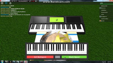 roblox piano sheets  demons roblox