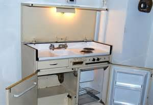 Sink Cupboard Unit by Vintage All In One Kitchenette