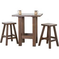 kmart dining room sets rustic wood pub tables rustic pub