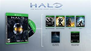 Halo 1 / 2 / 3 / 4 On Xbox One Master Chief Collection ...