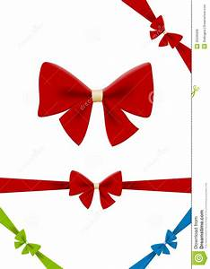 Bow Red Vector Design Element. Use For Gift, Chris Stock ...