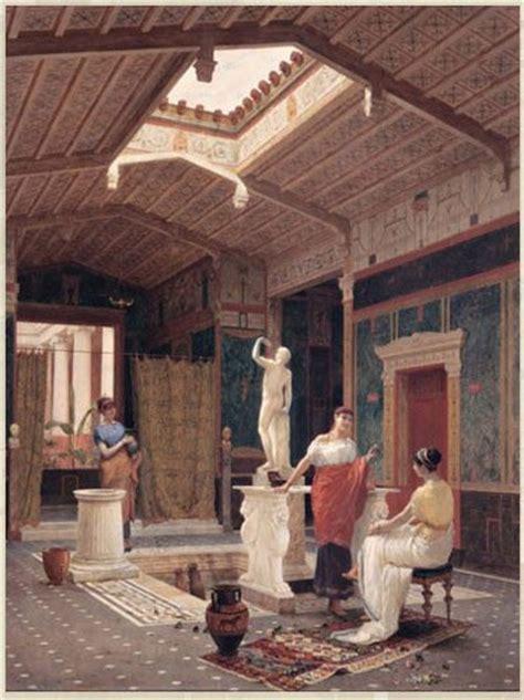 ancient roman villa cultural ideal rural life pt culture concept circle