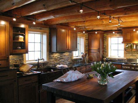 rock panels   rustic kitchen backsplash