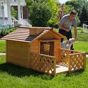 great wooden custom carpenter made cool dog houses With great dog houses