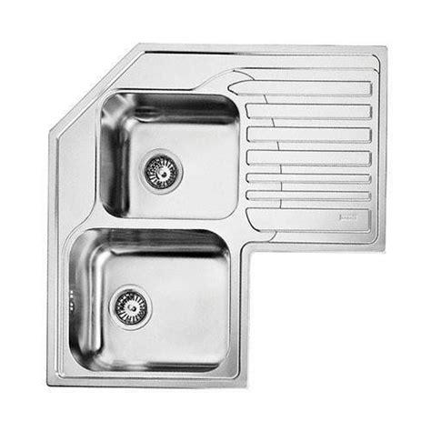 franke corner kitchen sinks franke studio stx621 inset corner sink rh drainer 3521