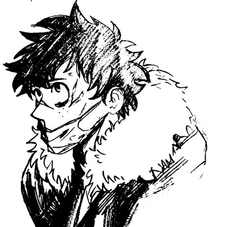 bnha izuku yakuza  hero academia villain deku