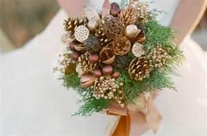 Pom De Pin Sallanches : 10 bouquets de mari e tomber pour un mariage d 39 hiver ~ Premium-room.com Idées de Décoration