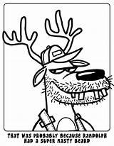 Hillbilly sketch template