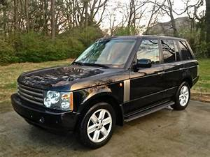 Find Used 2004 Land Rover Range Rover Hse Black  Gray 2