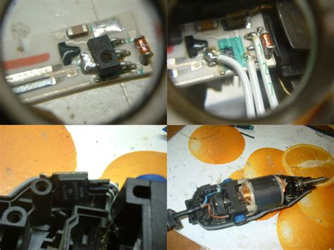 simple dremel triac hack repair hackaday