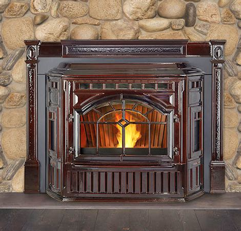 gas wood pellet fireplace inserts evergreen