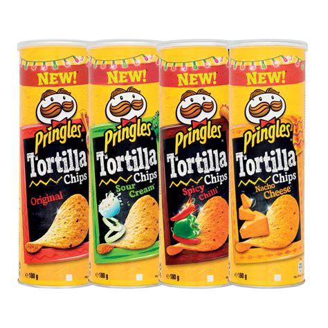 pringles tortilla originalsour creamsweet chillinacho