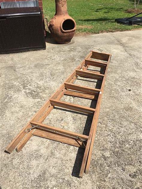 decoart blog diy vintage wooden ladder pool towel holder