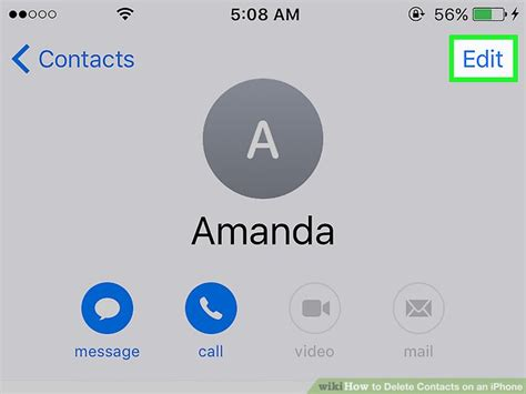how to delete contacts from iphone 5 5 easy ways to delete contacts on an iphone wikihow 3286