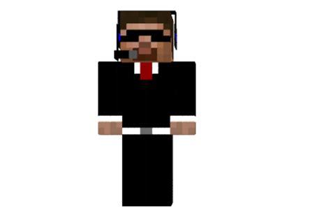 secret agent steve skin minecraft