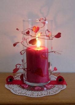 valentine candle centerpiece project candle making