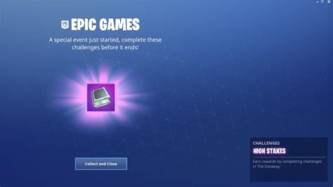 fortnite high stakes challenges  rewards