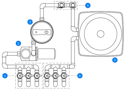 Pool Plumbing Diagram by Pool Valves With Solar Pool Heating Explained
