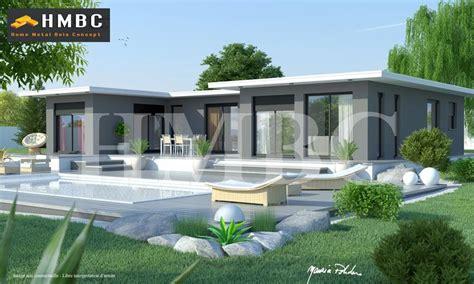 maison toit plat constructeur de villa toit plat hmbc