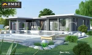 Maison Moderne Toit Plat : maison toit plat 74 ~ Nature-et-papiers.com Idées de Décoration