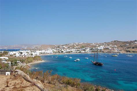 Ornos Beach In Mykonos Island Greece Mykonos Traveller
