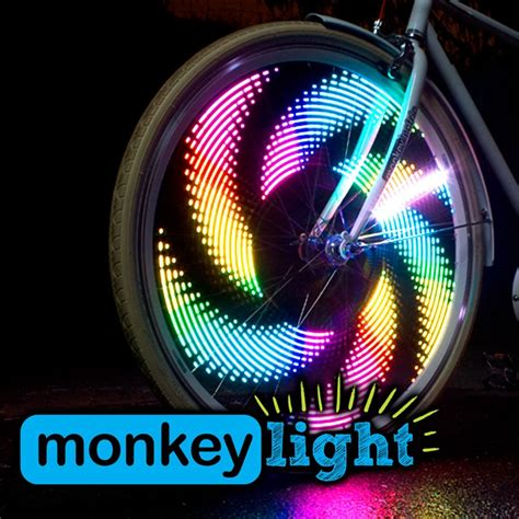 led bike wheel lights m232 monkey led bicycle wheel light