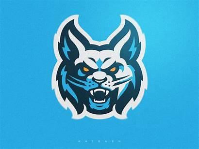 Dribbble Khisnen Lynx Logos Mascot Reaper Animal