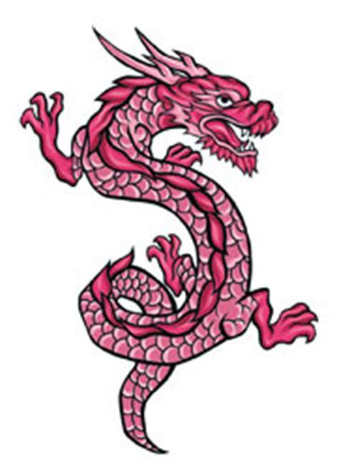 pink dragon  temporary tattoo  dra