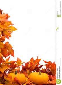 Fall Harvest Borders