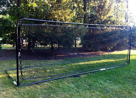 Soccer Rebounder Goals And Nets Portable, Backyard And