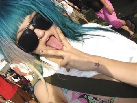 bunte haare n blauw haar girlscene forum