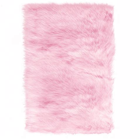 homedepot outdoor furniture home decorators collection faux sheepskin pink 5 ft x 8