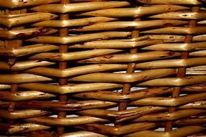 Wicker, Basket, Closeup, Texture, Picture