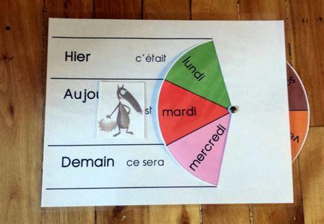 foto de roue de la semaine Semainier enfant Rituels maternelle