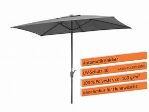 schneider sonnenschirm tunis 270x150 cm real With französischer balkon mit sonnenschirm rechteckig knickbar kurbel