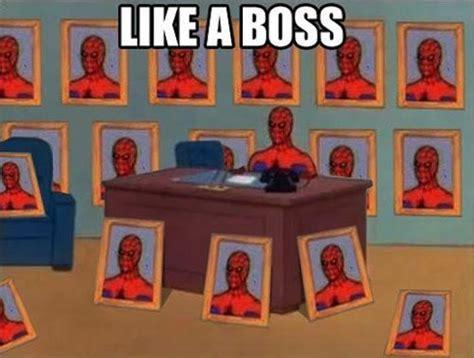 Spiderman Office Meme - hilarious vintage spiderman memes