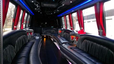 party bus chicago party bus rental with a bathroom limo bus service