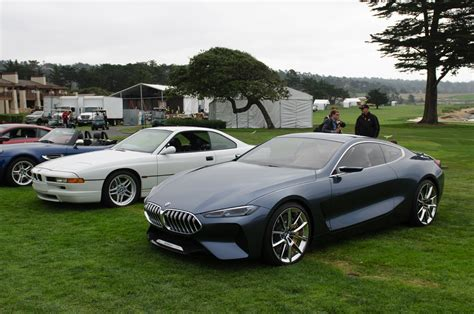 bmw concept 8 series introduced at pebble beach