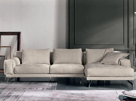 Nando Sofa With Chaise Longue Nando Collection By Max Divani