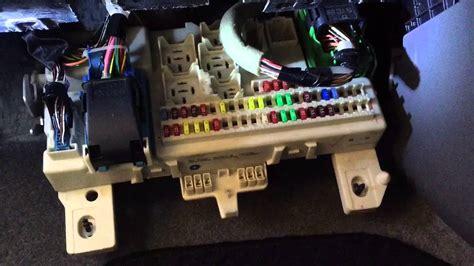 door lock box 2007 mazda 3 locate fuse box check fuse