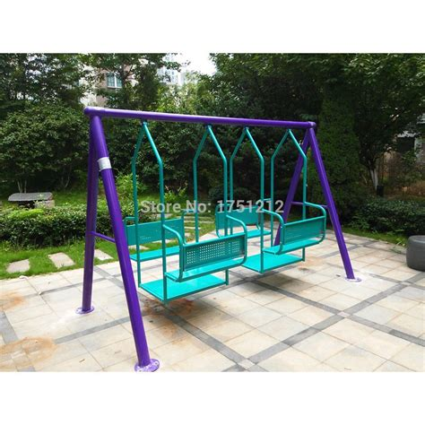 Children Swing by Galvanized Steel Children Outdoor Swing Antirust Garden